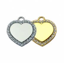 Hanger hart Stone