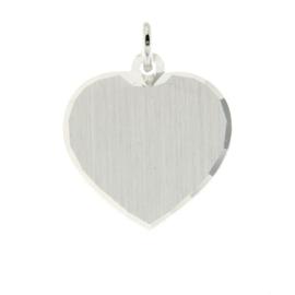 Hanger zilver hart