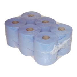 12 handdoekrol midi, blauw
