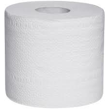Toiletpapier, 48 pak a 10 x 4 rollen, 400 vel op rol, 2 lgs, 100% cellulose