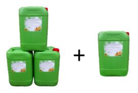 Truckcleaner truckreiniger 4 x 25 liter (€ 72,00 Excl. BTW per can)