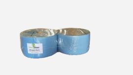 1 Pak met 2 rollen Uierpapier, AA-kwaliteit, 3laags, 22 cm, 350 meter per rol, 1000 vellen, doorsnede 39 cm