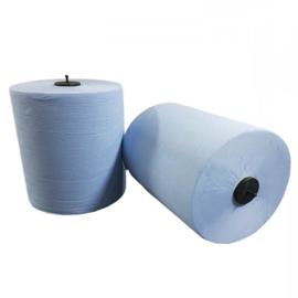 Matic Handdoekrol 30 pak à 6 rollen (21,15 Excl. BTW per pak) blauw