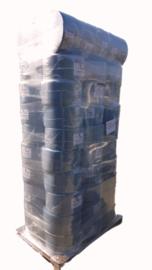 64 rollen Uierpapier (€9,42/rol excl BTW), AA-kwaliteit, 3laags, 22 cm, 350 meter per rol, 1000 vellen, doorsnede 39 cm