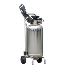 Schuimtank Foam-Matic / RVS Schuimkar 24 liter  schuimunit schuimketel