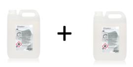 Desinfecterende handgel op alcohol basis (74,3%), doos 2 x 5 liter