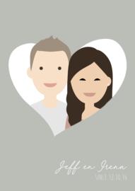 Familie avatar heart