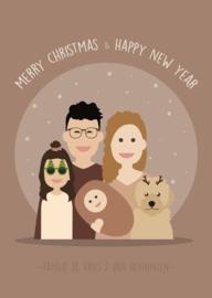 Kerstposter Cirkel avatar