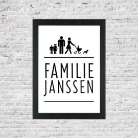 Familie poster icoon 2.0