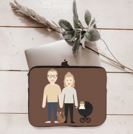 Laptop sleeve avatar full body