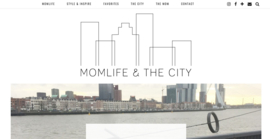 Logo Momlife and the city