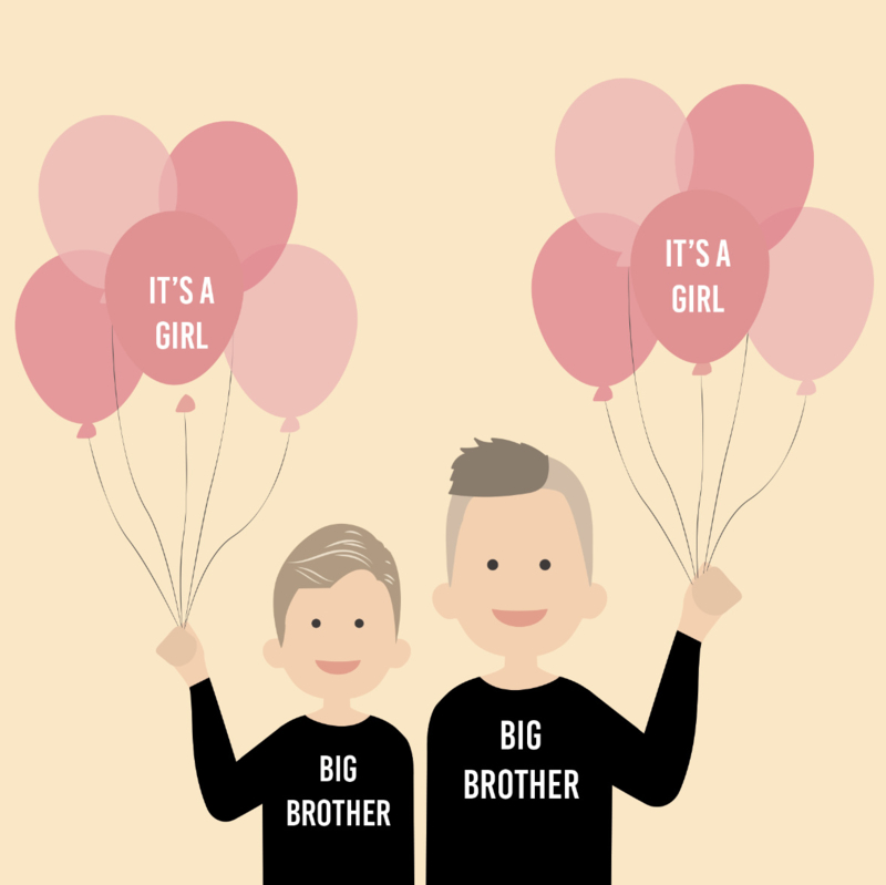 Baby announcement it's a ....