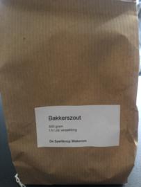 Bakkers zout 500 gram