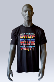Colorful T-shirt Chop, Ride & Party