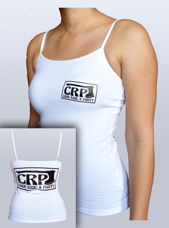 Women - CRP Tanktop - Spaghetti Straps - White