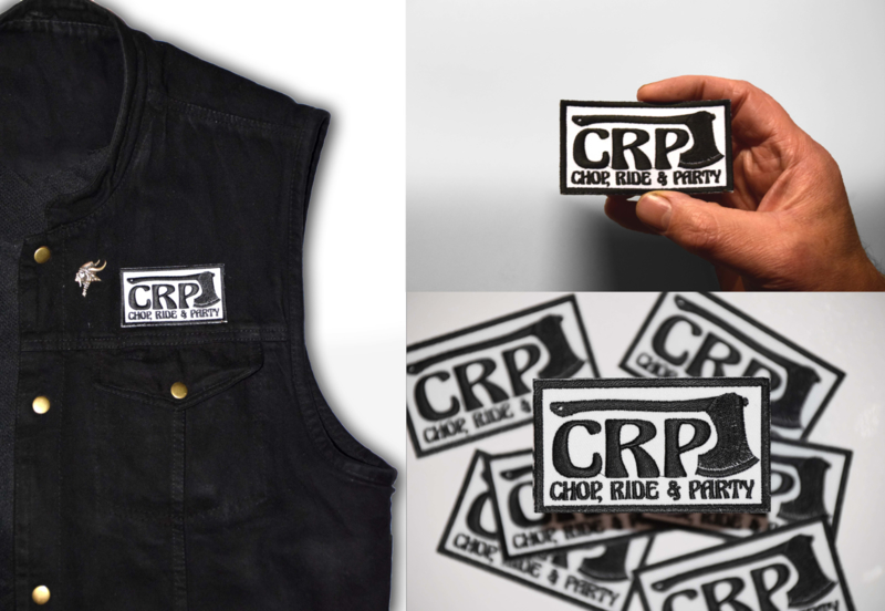 CRP Black & White Patch