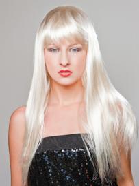 Gaga pruik blond