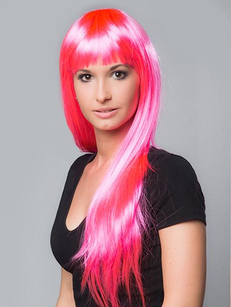 Gaga pruik pink