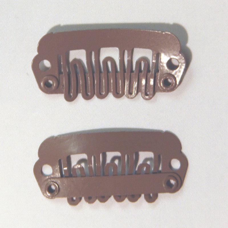 Haar-clips (zilver klein)