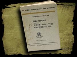 Handboek voor de dienstplichtige onderofficier