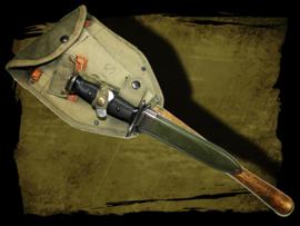 M7 bajonet &  M43 klapschep.
