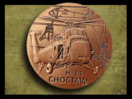 H-34 Choctaw penning