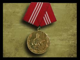 GDR East German Medal faithful services -Gold