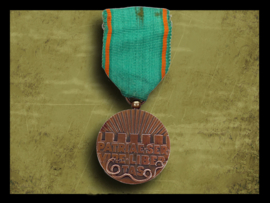 Patriae Servire Libertas medal