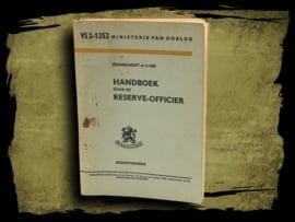 Handboek voor de reserve-officier