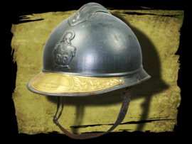 French M15 helmet