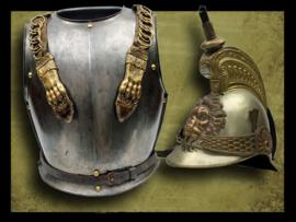 Belgium Helmet and Cuirass M-1841/42