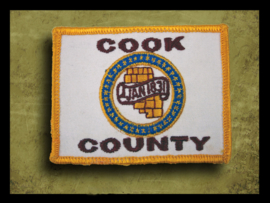 Cook County Flag Patch