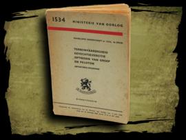 Infanterie opleiding. M.V.O. 1948