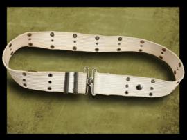 U.S. Webbing Belt MP White