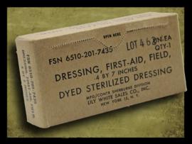 Vietnam War - U.S. First Aid Field Dressing