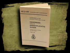 Handboek voor het dienstplichtig kader