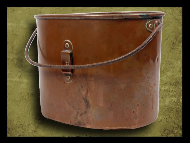 Imperial Russian Cooper mess-tin