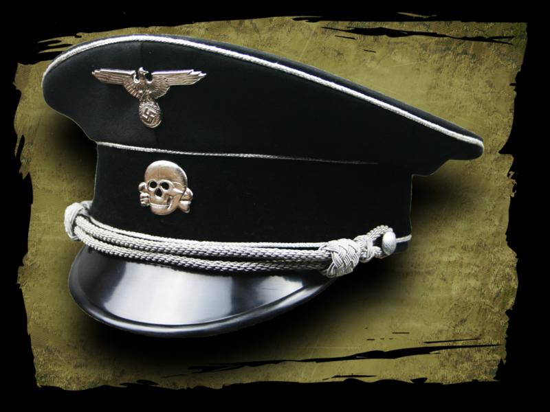 Allgemeine SS Officers Visor Cap