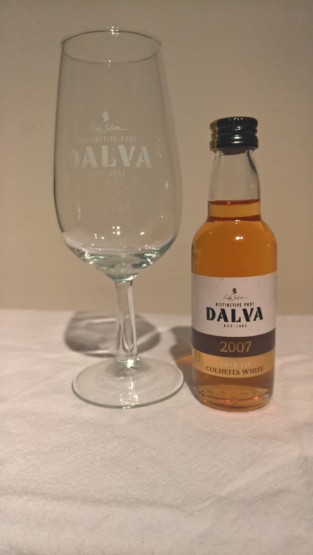 Dalva Colheita 2007 White 5cl