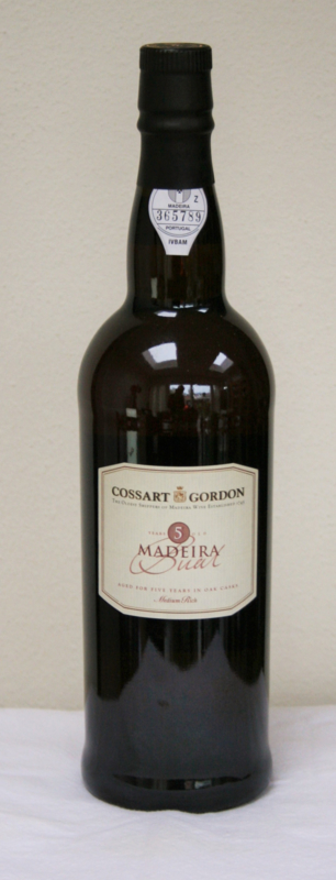 Cossart Gorden Bual Medium Rich 5 Years Old Madeira