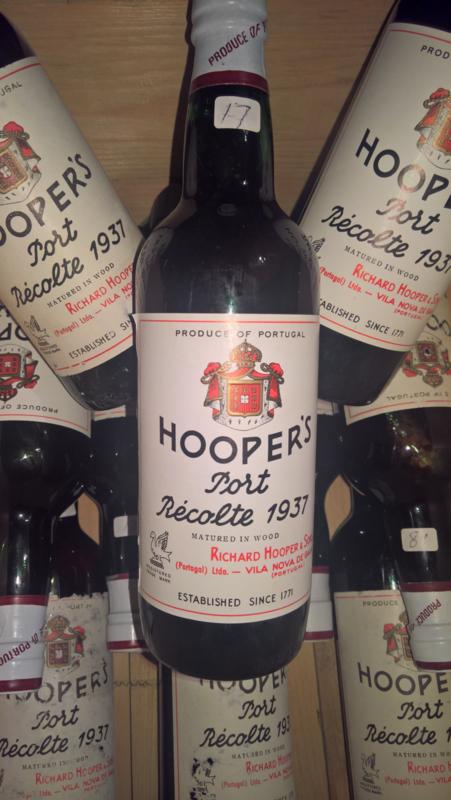 Hooper's Récolte 1937