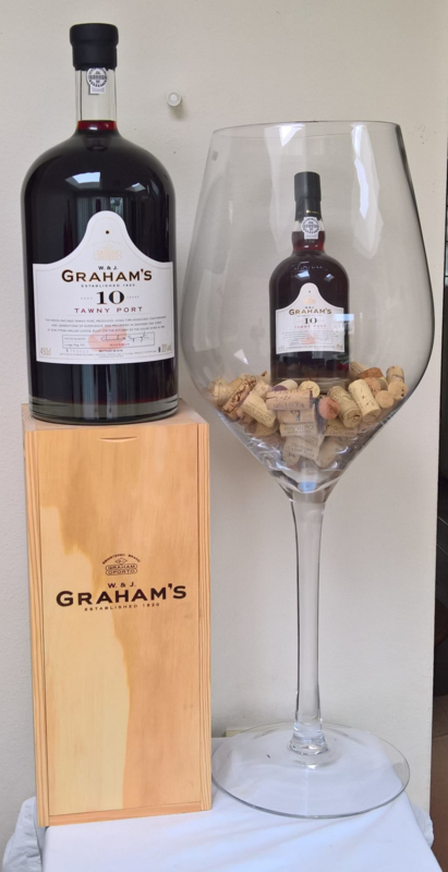 Graham's 10 Years Old Tawny Port  Jeroboam (4,5 liter)