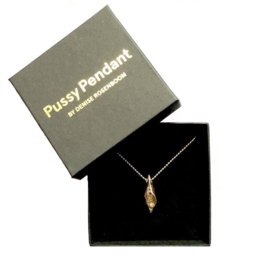 Gold coloured - Pussy Pendant  (limited edition)