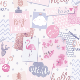 Dutch Little Ones LO2402 Pinboard lila