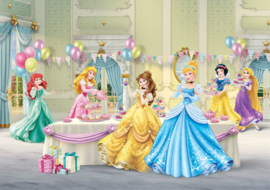 Fotobehang AG Design Disney FTD2224 Princess Celebrate 4-d