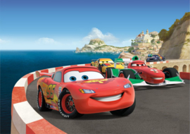 Fotobehang AG Design Disney FTDS1924 Cars 2 Race 2-d