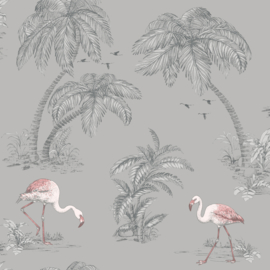 Dutch Imaginarium 12381 Flamingo grijs roze