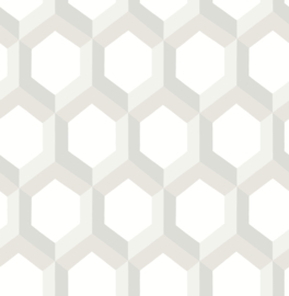 Dutch Eclipse 23842 Hex wit beige