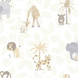 Dutch Make Believe 12540 Jungle Friends beige