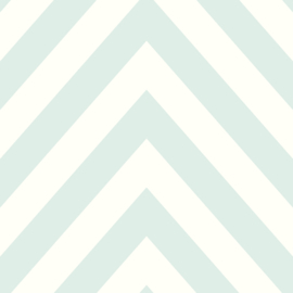 Dutch Make Believe 12570 Chevron mintgroen